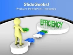 Test Your Efficiancy PowerPoint Templates Ppt Backgrounds For Slides 0813