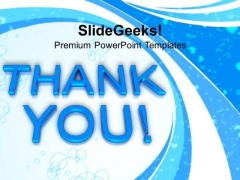 Thank You Abstract PowerPoint Templates And PowerPoint Themes 1112