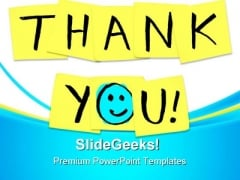 Thank You Business PowerPoint Templates And PowerPoint Backgrounds 0811
