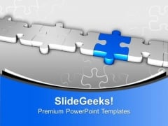 The Right Part And Bridge The Gap PowerPoint Templates Ppt Backgrounds For Slides 0613