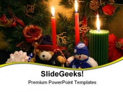 The Xmas Spirit Religion PowerPoint Templates And PowerPoint Backgrounds 0611