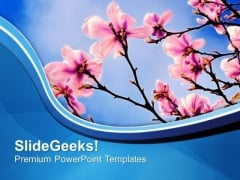 Theme Of Spring Beauty Of Nature PowerPoint Templates Ppt Backgrounds For Slides 0613
