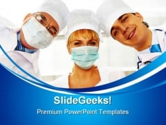Therapeutists Medical PowerPoint Templates And PowerPoint Backgrounds 0411