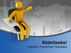 Think And Learn Solution In Business PowerPoint Templates Ppt Backgrounds For Slides 0413