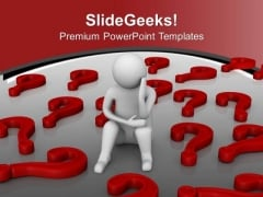 Think For The Right Answers PowerPoint Templates Ppt Backgrounds For Slides 0613