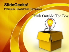 Think Open Strategy Technology PowerPoint Templates And PowerPoint Themes 1112