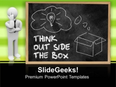 Think Outside The Box Business PowerPoint Templates And PowerPoint Themes 0912