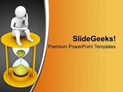 Think Solution For Business In Time PowerPoint Templates Ppt Backgrounds For Slides 0713