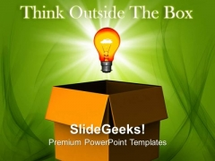 Thinking Outside The Box Business PowerPoint Templates And PowerPoint Themes 0812