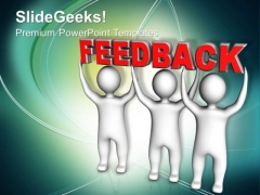 Three Men Join Forces To Lift Feedback PowerPoint Templates Ppt Backgrounds For Slides 0113