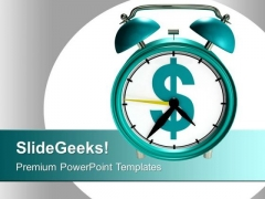 Time And Money Business Concept PowerPoint Templates Ppt Backgrounds For Slides 0313
