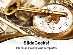Time And Money Business PowerPoint Templates And PowerPoint Backgrounds 0211