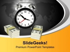 Time And Money Business PowerPoint Templates Ppt Backgrounds For Slides 0113