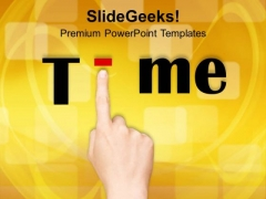 Time Business Concept PowerPoint Templates Ppt Backgrounds For Slides 0313