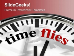 Time Flies Business Opportunities PowerPoint Templates Ppt Backgrounds For Slides 0213