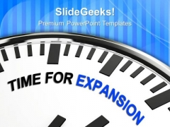 Time For Expansion Concept Globalization PowerPoint Templates Ppt Backgrounds For Slides 0213