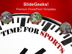 Time For Sports Concept Competition PowerPoint Templates Ppt Backgrounds For Slides 0413