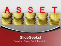 Time Is Asset For Investment And Money PowerPoint Templates Ppt Backgrounds For Slides 0313