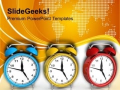 Time Is Important PowerPoint Templates Ppt Backgrounds For Slides 0413