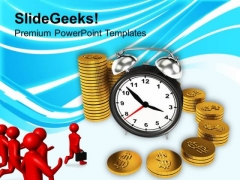 Time Is Money Concept Finance PowerPoint Templates Ppt Backgrounds For Slides 0113