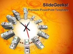 Time Is Money Finance PowerPoint Templates And PowerPoint Backgrounds 0211
