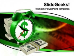 Time Is Money Finance PowerPoint Templates And PowerPoint Themes 0712
