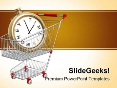 Time Is Money Finance PowerPoint Themes And PowerPoint Slides 0511