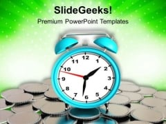 Time Is Money In Business PowerPoint Templates Ppt Backgrounds For Slides 0513