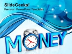 Time Is Money Marketing PowerPoint Templates And PowerPoint Themes 1012