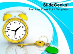 Time Is The Key Of Success PowerPoint Templates Ppt Backgrounds For Slides 0513