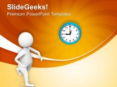 Time Is Valuable For Everybody PowerPoint Templates Ppt Backgrounds For Slides 0713