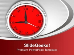 Time Is Valuable In Business PowerPoint Templates Ppt Backgrounds For Slides 0513