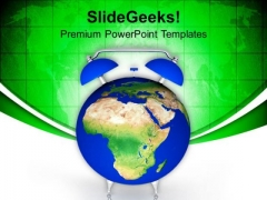 Time To Look Into Global Issues PowerPoint Templates Ppt Backgrounds For Slides 0313