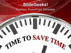 Time To Save Money Wisdom PowerPoint Templates Ppt Backgrounds For Slides 0313