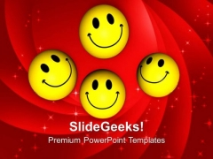 Time To Smile On Business Success PowerPoint Templates Ppt Backgrounds For Slides 0313