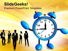 Time To Start Business Teamwork Concept PowerPoint Templates Ppt Backgrounds For Slides 0513
