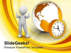 Time To Take Action On Global Issues PowerPoint Templates Ppt Backgrounds For Slides 0313