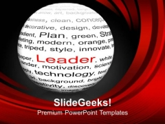 To Become A Leader Do Hard Work PowerPoint Templates Ppt Backgrounds For Slides 0613