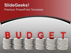 To Manage Money Make Budget PowerPoint Templates Ppt Backgrounds For Slides 0413