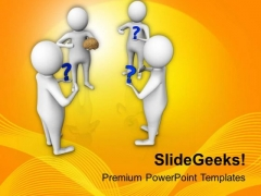To Solve The Problems Use Brains PowerPoint Templates Ppt Backgrounds For Slides 0613