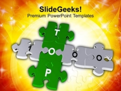 Top 1000 Jigsaw Crossword Puzzle PowerPoint Templates Ppt Backgrounds For Slides 0213