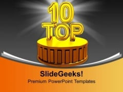 Top 10 Metaphor PowerPoint Templates And PowerPoint Themes 1112