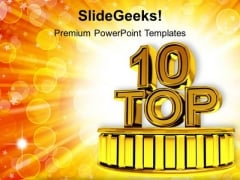 Top Ten Business Success PowerPoint Templates Ppt Backgrounds For Slides 1112