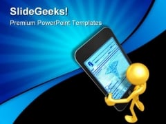 Touch Screen Technology PowerPoint Themes And PowerPoint Slides 0611