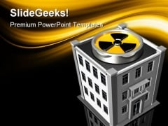Toxic Work Environment Industrial PowerPoint Templates And PowerPoint Backgrounds 0311
