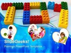 Toy Word With Lego Game PowerPoint Templates And PowerPoint Themes 0512