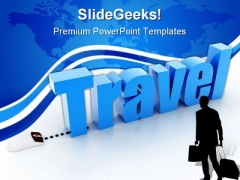 Travel Concept Business PowerPoint Themes And PowerPoint Slides 0411