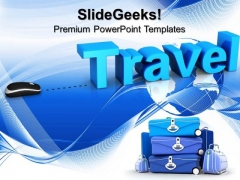 Travel Concept Global PowerPoint Templates And PowerPoint Themes 0912
