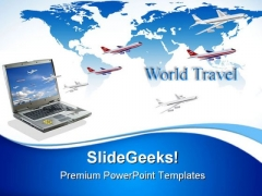 Travel Conceptual Internet PowerPoint Themes And PowerPoint Slides 0811