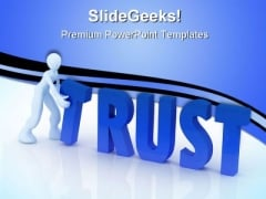 Trust Concept Business PowerPoint Templates And PowerPoint Backgrounds 0511